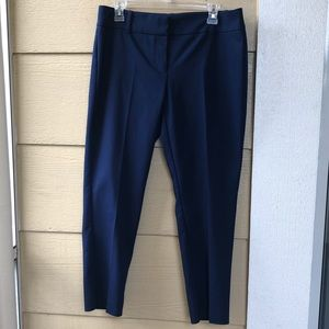 White House Black Market Navy Ankle Pants